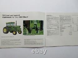 RARE John Deere 3020 4020 4520 5020 WA-14 WA-17 Farm Tractor Brochure 56 Pages