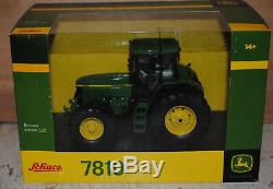 Schuco John Deere 7810 Tractor, Mib, Britains 1/32 Scale