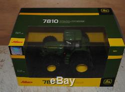 Scuuco John Deere 7810 Tractor, Duals, Mib, Britains 1/32 Scale