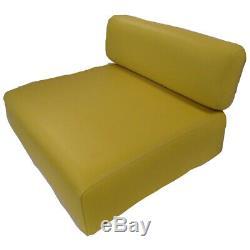 Seat Cushion Set AM3462T AM3463T for John Deere Tractor 40 320 330 420 M MC MT +