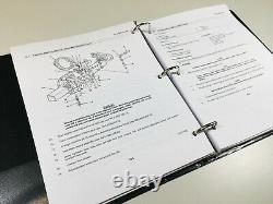 Service Manual For John Deere 410 410b 410c Tractor Loader Backhoe Military