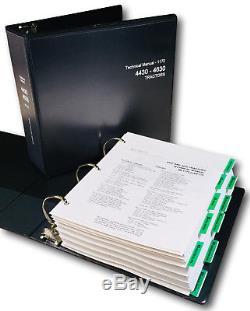 Service Manual For John Deere 4430 4630 Tractor Technical Repair Shop Book