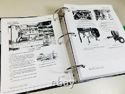 Service Manual For John Deere 4440 Tractor Technical Repair Shop Book Overhaul