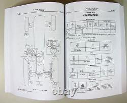 Service Manual Set For John Deere 2020 Tractor Parts Operators Owner Tech Repair