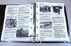 Service Manual Set For John Deere 4020 4000 Tractor Operators Tech Parts Catalog