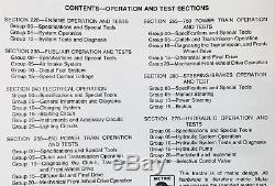 Service Manual Set For John Deere 650 750 Tractor Parts Catalog Tech Repair Book