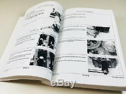Service Manual Set For John Deere 650 750 Tractor Parts Catalog Technical Shop