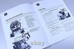 Service Operators Parts Manual Set John Deere 4320 Tractor Repair Book Overhaul