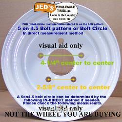 TWO 10 RIM WHEEL for John Deere Zero Turn Riding Lawn Mower Garden Tractor 10x7