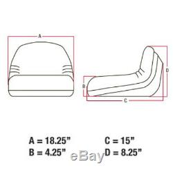 TY15862 Seat For John Deere Tractor F510 RX75 111H 170