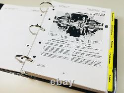 Technical Service & Parts Manual Set John Deere 310a 310b Tractor Loader Backhoe