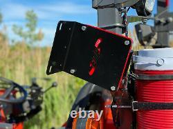Tractor Chainsaw Rack for ROPS fitsKubota, New Holland, John Deere P/N 14217