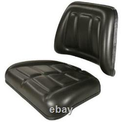 Tractor Seat Cushion Kit Backrest and Bottom Fits John Deere, Fits Ford, and Mor