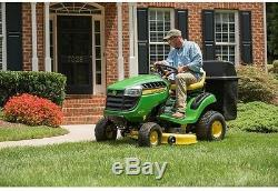 Twin Bagger 42 In. 100 Series Tractors Mounting Rear Lawn Garden Outdoor