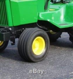 Two 18x8 50 8 V61 5 Rib 6 Ply John Deere Lawn Mower Garden Tractor Tires V7573