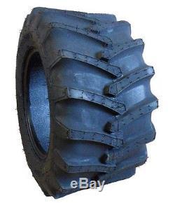 Two 23x10.50-12 Firestone Flotation 23 Garden Tractor Lug Tires fit John Deere