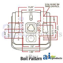 Universal Tractor Seat Fits Case IH International Ford New Holland John Deere
