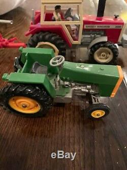 Vintage 1970s -80s BRITAINS Farm Tractors Massey Ferguson John Deere NICE