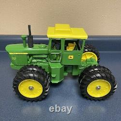 Vintage 1970s Ertl John Deere 7520 4-wheel Drive Tractor Toy 1/16th Restored