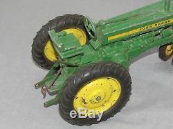 Vintage ERTL 620 John Deere Die Cast Metal Toy Tractor 1/16 3 point ORIGINAL