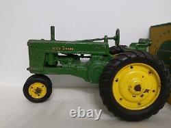 Vintage ESKA 60 John Deere Die Cast Metal Farm Toy Tractor 1/16 with box