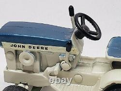 Vintage John Deere 140 Spruce Blue Patio Lawn And Garden Tractor 1/16 Scale Ertl