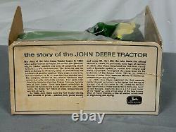 Vintage John Deere 4020 Die-Cast ERTL 116 NIB Bubble Box Wide Rear RARE Tractor