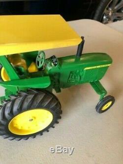 Vintage John Deere 4020 Tractor 1/16 Jd Wf Canopy Rops