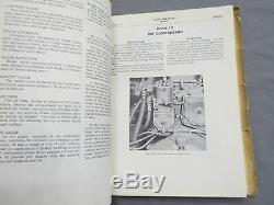 Vintage John Deere 8010 8020 Tractor 4WD Service Manual original 1964 RARE