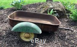 Vintage John Deere JD Pedal Tractor Wagon Trailer Only ESKA