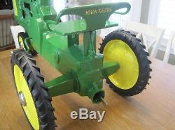 Vintage Restored Eska John Deere 130 Pedal Tractor
