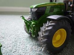Wiking 1 32 JOHN DEERE 6215R tractor convo