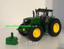 Wiking 1/32 Scale John Deere 6250r Model Tractor With Weight (mib)