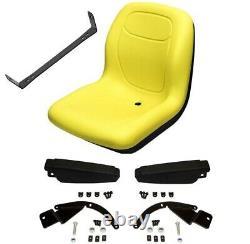 YELLOW SEAT Fits John Deere COMPACT TRACTORS 2305 2320,2520, 2720 Fits JD #LO