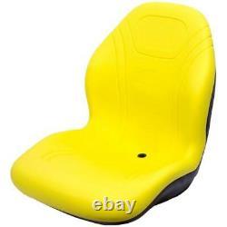 Yellow Seat Fits JD Fits John Deere 425 445 455 4110 4115 Garden Compact Tractor