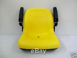 Yellow Seat Fits Jd John Deere 4044m, 4049m, 4052m, 4066m Compact Tractors #mx