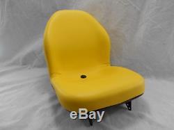 Yellow Seat John Deere X485, X495, X575, X585, X595, X720, X724, X740, X748, X749 #doai