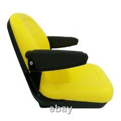 Yellow Seat M805158 for John Deere Compact Tractors 670 770 790 870 970 990 1070