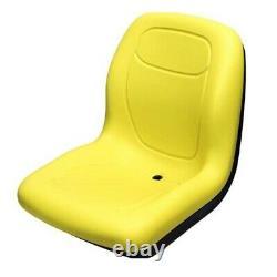 Yellow Seat fits John Deere 3203 1023E 3032E 3038E Compact Tractors